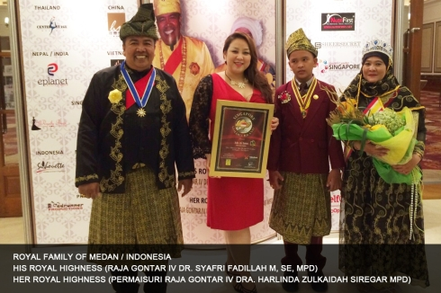 Royal Family of Indonesia Medan